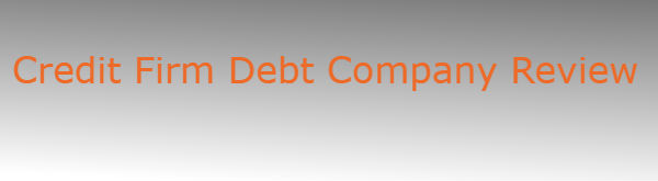 Credit Firm Debt Company Review